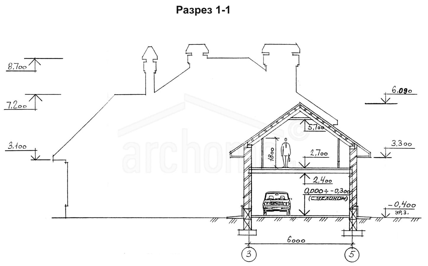 Планы этажей проекта КЛЕН 3