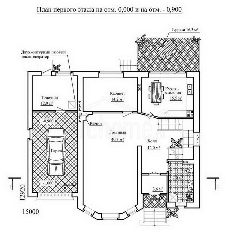 Планы этажей проекта АРТЕМИДА 1