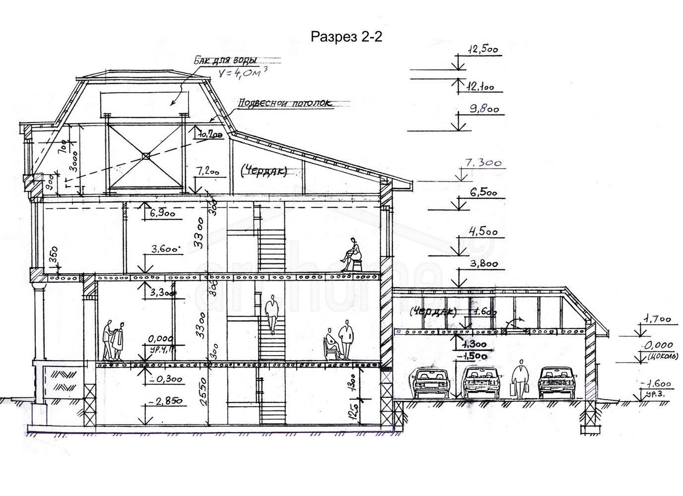 Планы этажей проекта БУРБОН 4