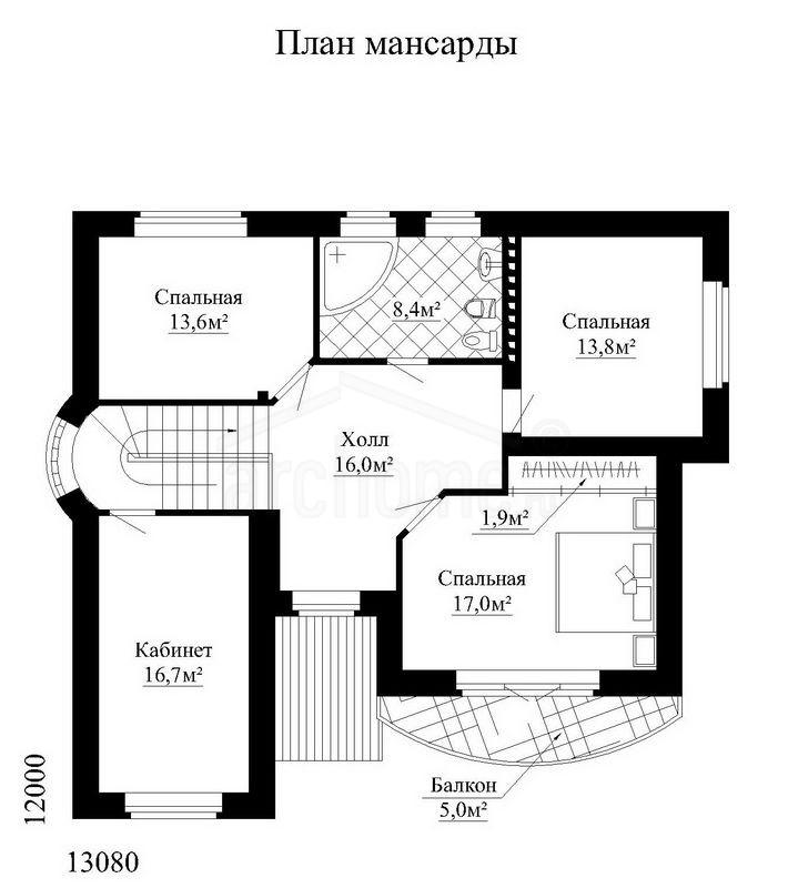 Планы этажей проекта ЧЕСТЕР 3