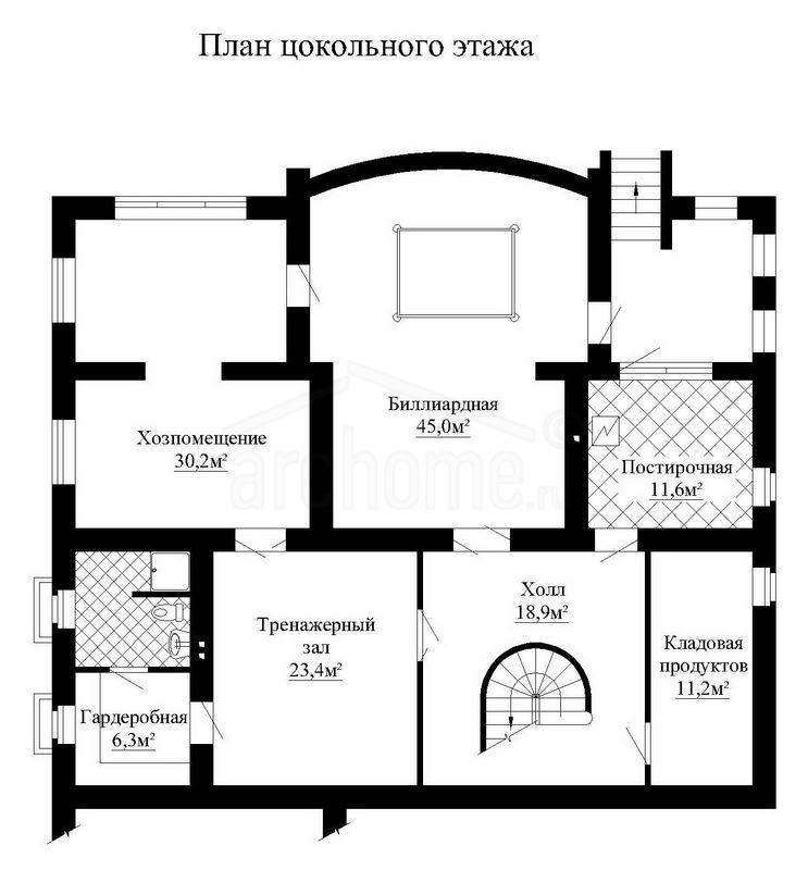 Планы этажей проекта ГАЛИНА 3