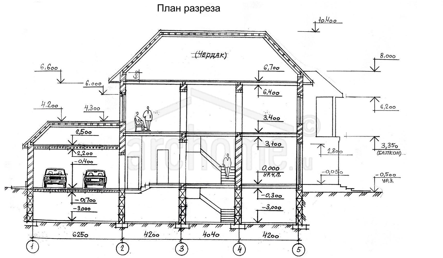 Планы этажей проекта ОНИКС 4