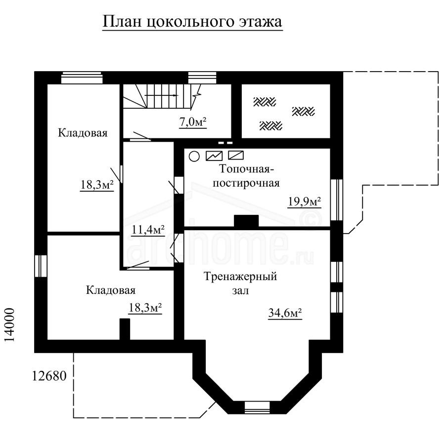 Планы этажей проекта СУАРЕ 3
