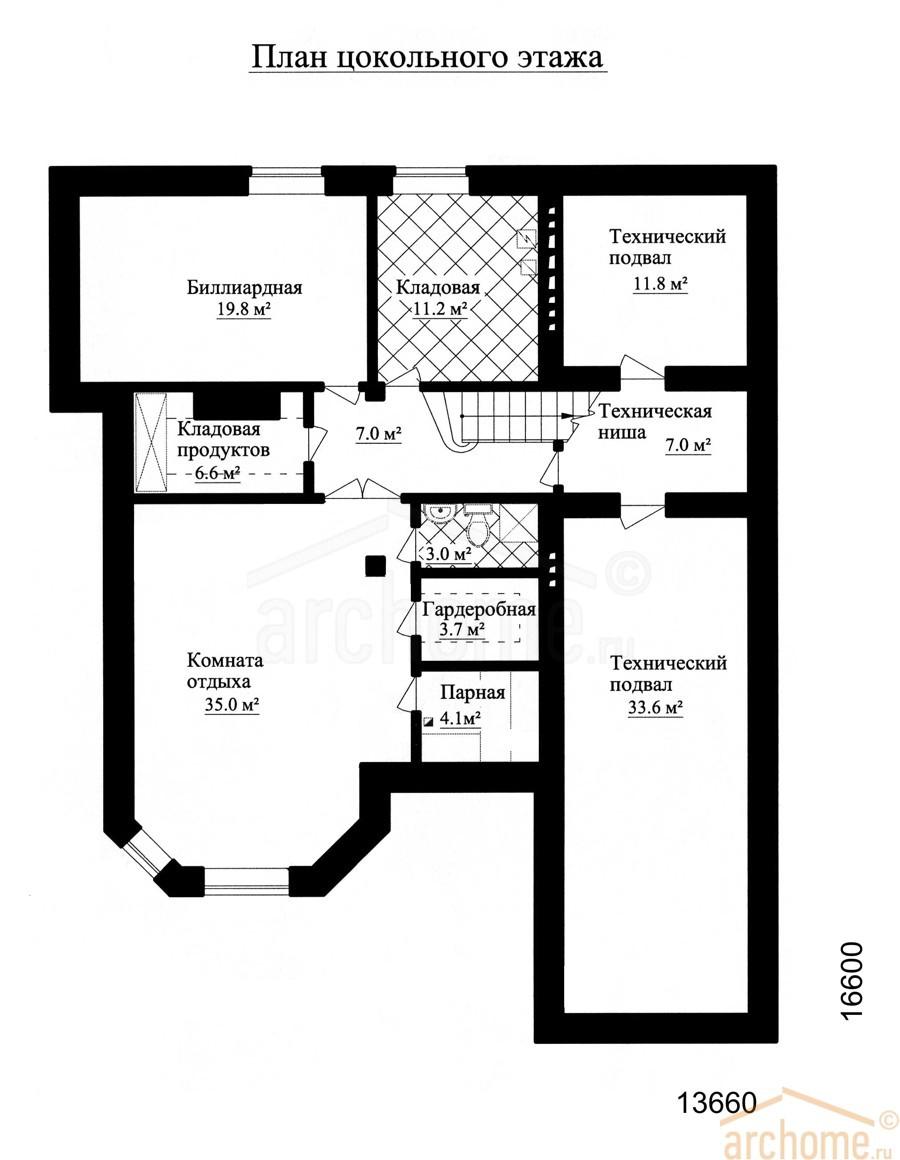 Планы этажей проекта АГАТ 3