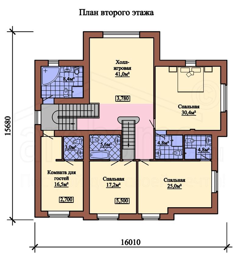 Планы этажей проекта КОРВЕТ 2