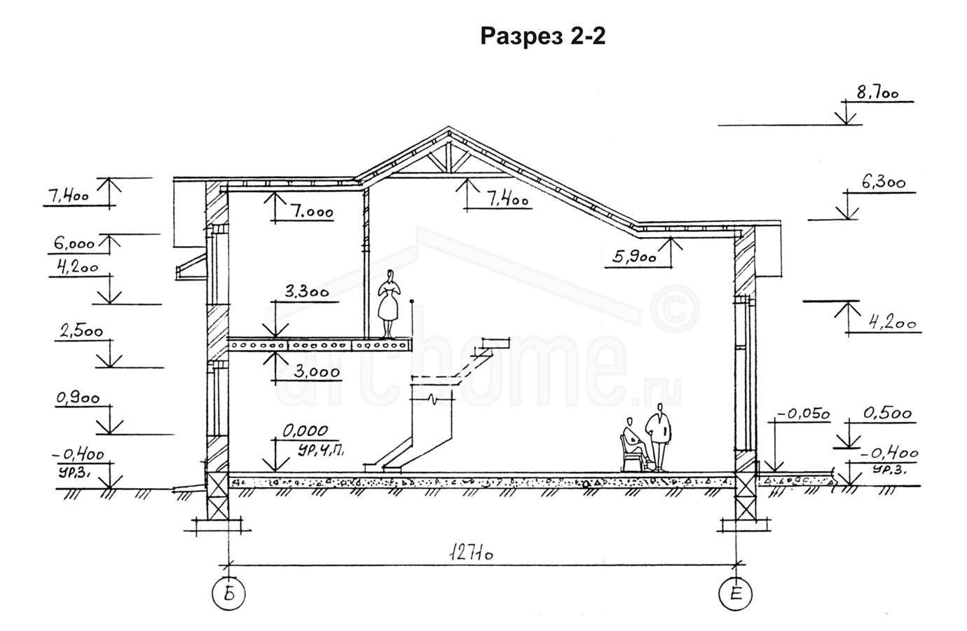 Планы этажей проекта КЛЕН 4